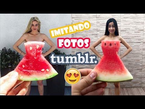 imitando fotos TUMBLR criativas ♥ Ft. Irmão