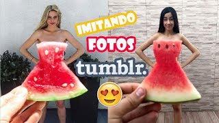 Baixar imitando fotos TUMBLR criativas ♥ Ft. Irmão