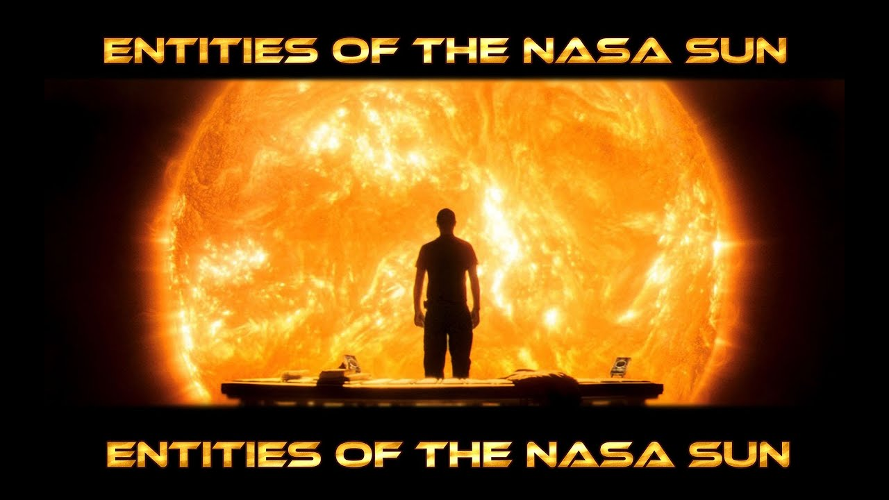 Entities of the NASA Sun - Yellow Rose for Texas