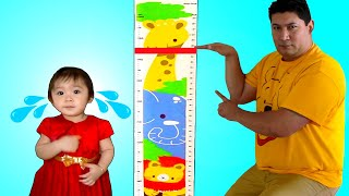 Baby Maddie Wants To Be Taller To Play with Ballpit Jumper Playhouse Toy for Kids