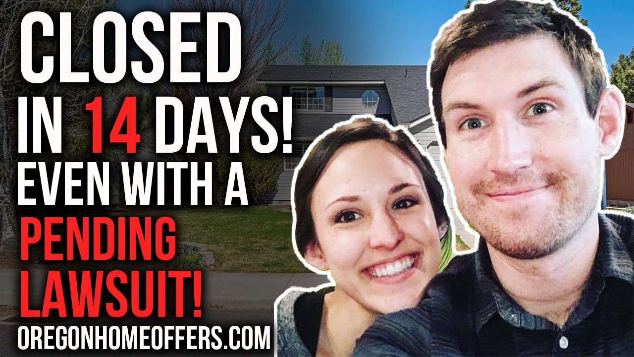 We closed on this Bend, OR home in 14 days...even with a pending lawsuit!