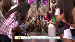 Kesha Live @ (today Show 08.13.10) - Your Love Is My Drug