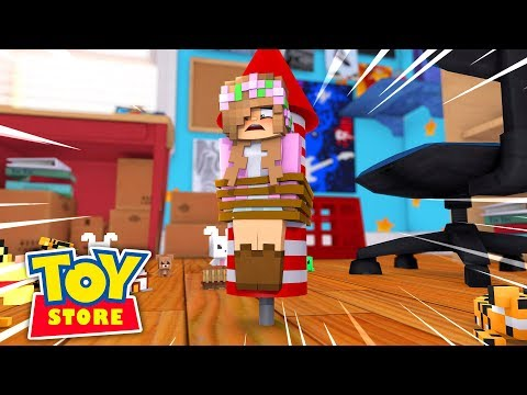 OUR NEW OWNER KILLS LITTLE KELLY, THE TOYS ARE GONE FOREVER!!! Minecraft w/ Little Carly and Sharky
