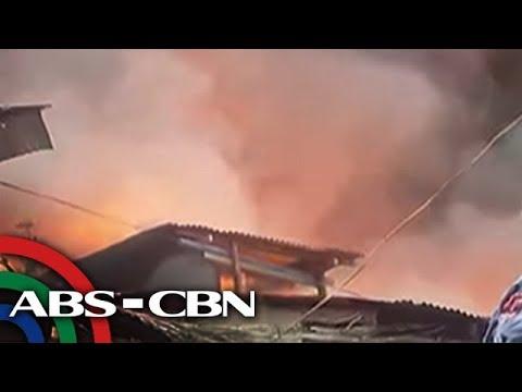Bandila: 300 bahay, nasunog sa Mandaluyong; 1,000 pamilya, apektado