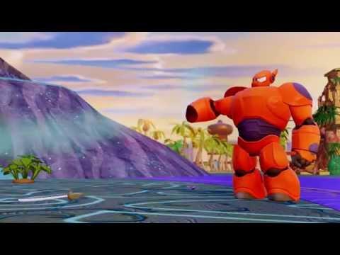 Disney Infinity 2.0  – Big Hero 6: Hiro & Baymax Trailer