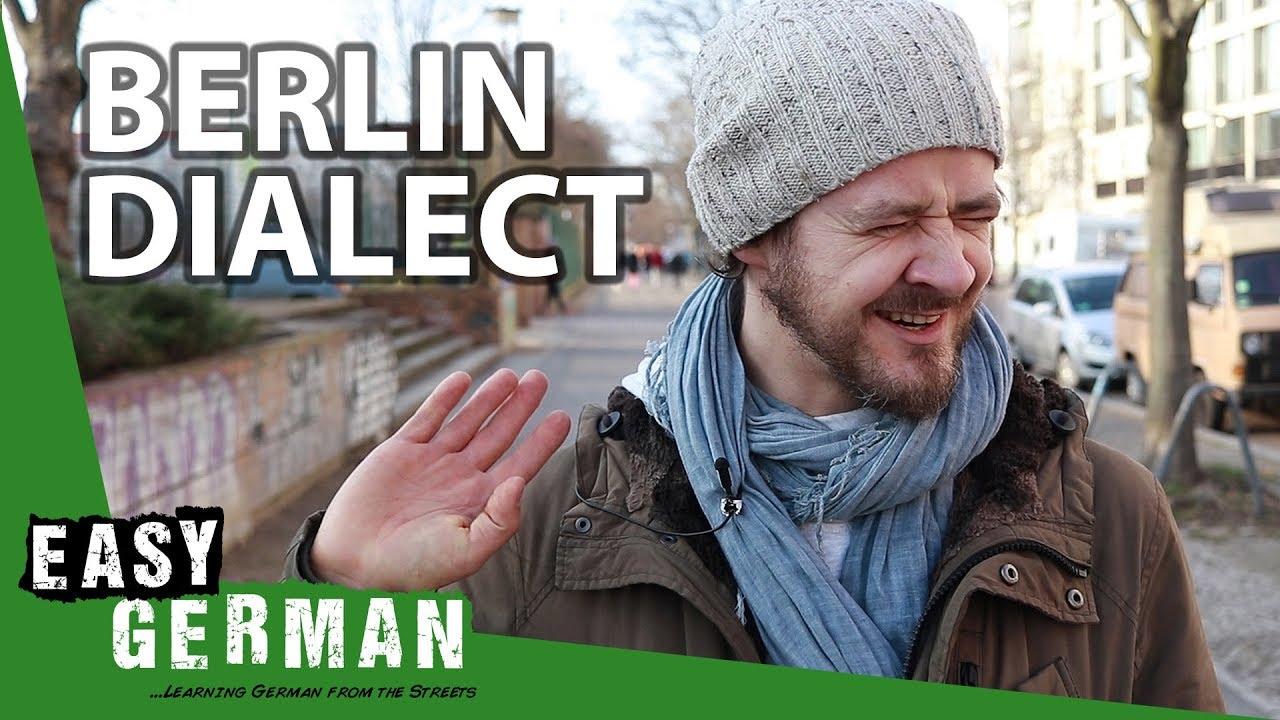 Image result for Berlin Dialect vs German Standard
