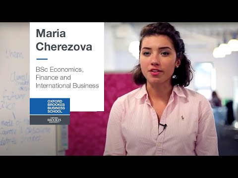BSc Economics, Finance and International Business - Maria Cherezova