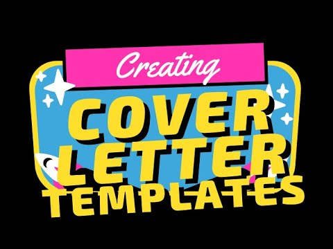 Creating a Template for Cover Letters | JobSearchRadio.com