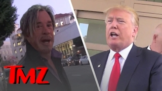 Mickey Rourke: Give Me 30 Seconds With Donald Trump