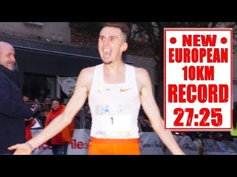 New European 10km Record At Corrida De Houilles 2018