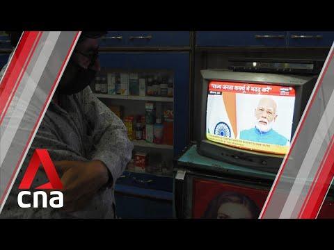 COVID-19: India PM Modi orders one-day nationwide curfew