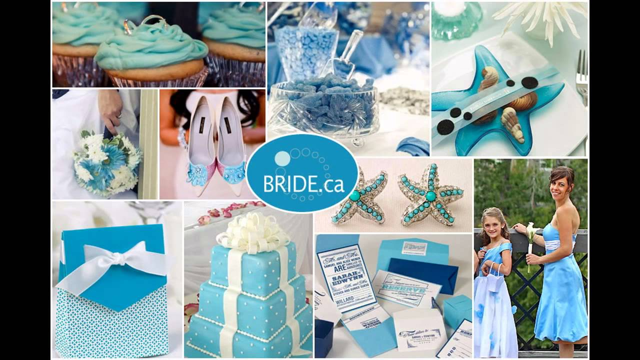Blue Themed Wedding Decorations Ideas Youtube