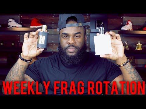Weekly Fragrance Rotation #34| Top 7 Fragrance Picks (2018)