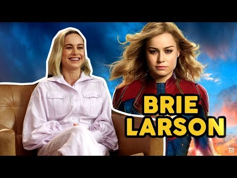 Entrevista a Brie Larson - 'Capitana Marvel'