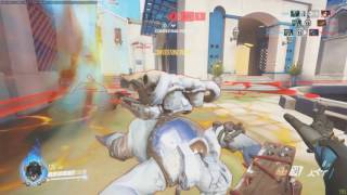 Overwatch Competitive Genji Carry Moment #1