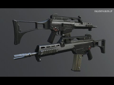 fallout4 MOD :Heckler und Koch - G36 Complex