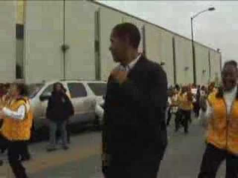 Full video: Pre-JJ Obama March