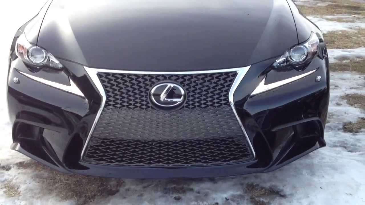 2014 lexus is 250 awd executive f sport package review doovi. Black Bedroom Furniture Sets. Home Design Ideas