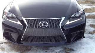 2014 Lexus IS 250 AWD Executive F SPORT Package Review in Black
