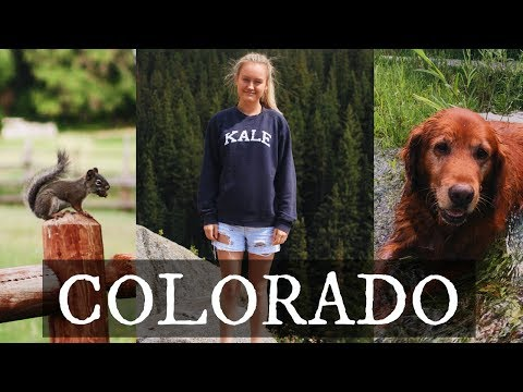 Best of Colorado  - AMERICA - TRAVEL VLOG #1