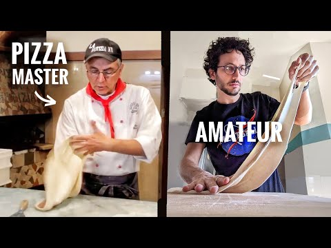 I Try to Master The Pizza 'Slapping' Technique...