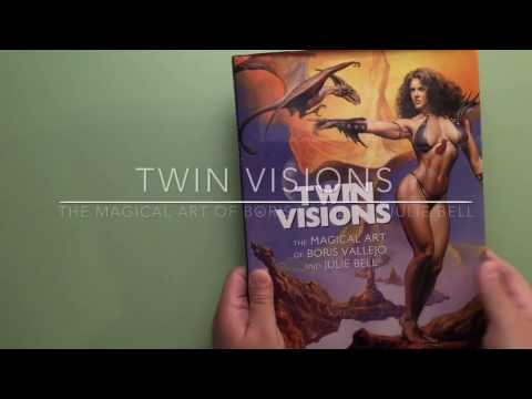 TWIN VISIONS - The Magical Art of Boris Vallejo & Julie Bell