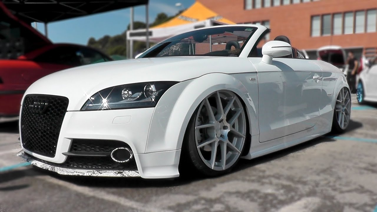 Tuned Cars   Audi TT,RS4,BMW M3,VW Golf,Seat Leon   Tuning Meet /German  Style   YouTube
