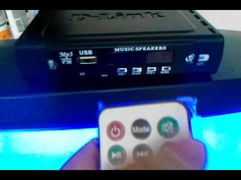 Leitor E Decodificador Mp3 Player C/Controle Remoto