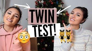 WIR SIND ZWILLINGE!!!?? DER TWIN TEST! + VERLOSUNG!!| ⓀⒹ
