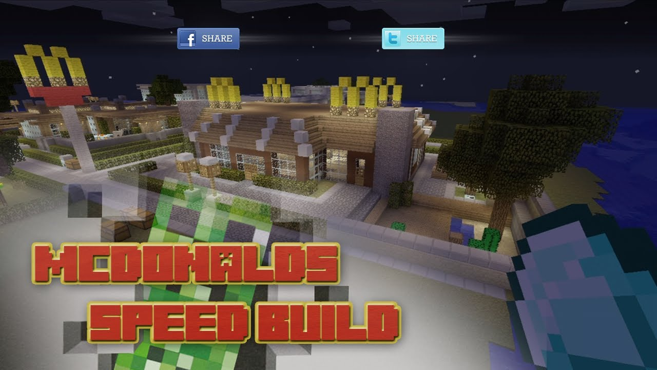 How To Build A Mcdonalds In Minecraft Keralis