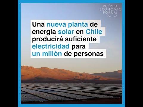 Una nueva planta de energía solar en Chile producirá suficiente electricidad para un millón de pe