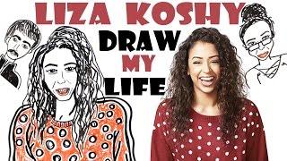 Draw my life liza koshy