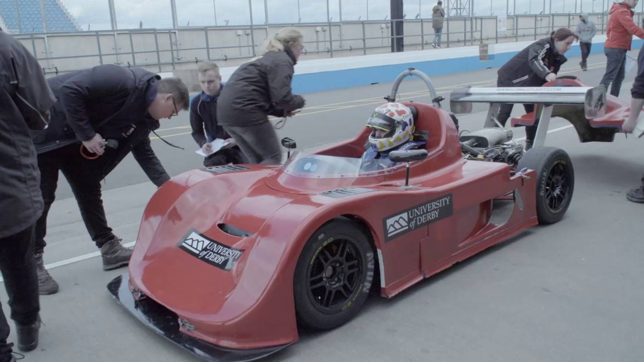 Charlotte Tolley, BEng (Hons) Motorsport Engineering, at ...
