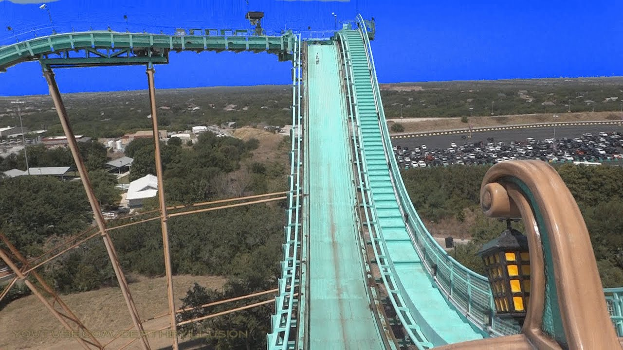 Journey To Atlantis On Ride Front Seat Hd Pov San