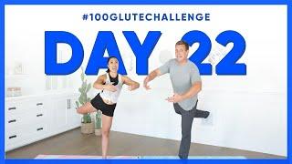 Day 22: Standing Attitude Pulse! | 100 Glute Challenge w/ Rocky Kanaka