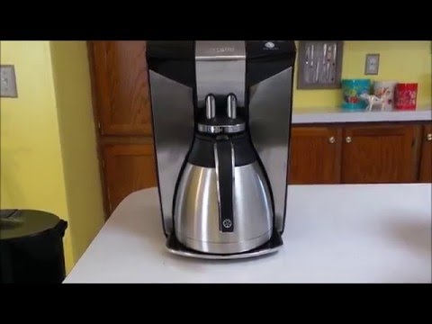Mr Coffee Coffee Maker Not Working : Mr. Coffee Optimal Brew 12 Cup Programmable Coffee Maker with Thermal Carafe Review - YouTube