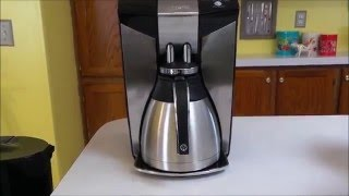 Mr. Coffee Optimal Brew 12 Cup Programmable Coffee Maker with Thermal Carafe Review