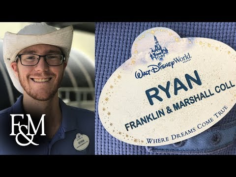 Ryan Stull '17: Biology Internship at Walt Disney World
