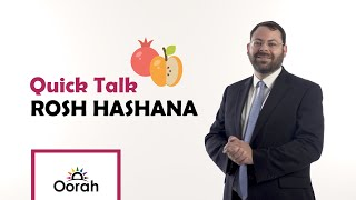 Quick Talk - Rosh Hashana in three minutes with Rabbi Eli Bohm