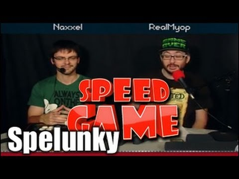 Speed Game - Spelunky - Jusqu'en enfer...