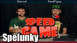 Speed Game - Spelunky - Jusqu'en enfer...
