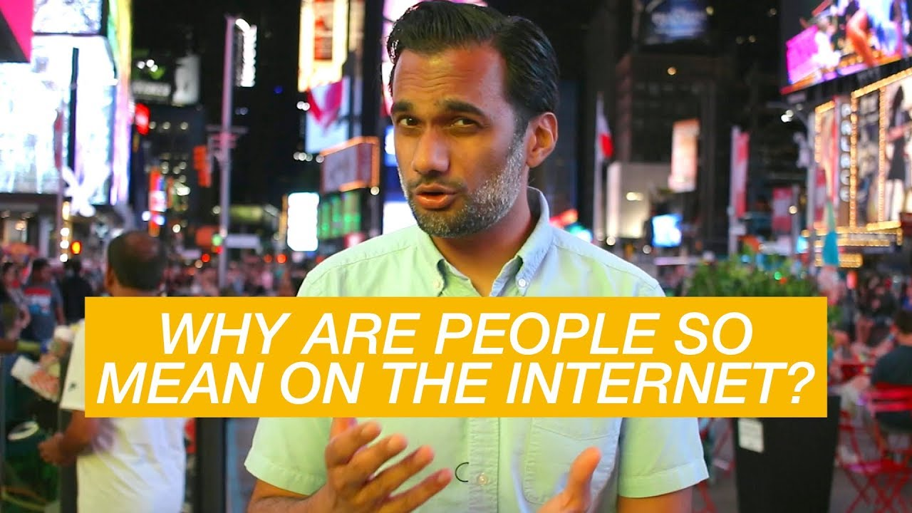 Why are people so mean on the internet? - YouTube