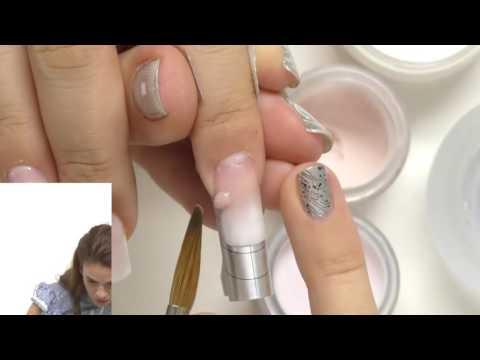 Наращивание ногтей акрилом дизайн
