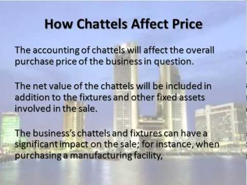 The Difference Between a Fixture and a Chattel – and Why It Matters