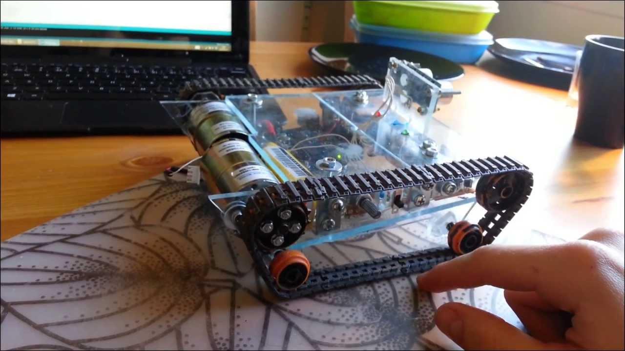 Diy arduino robot walkthrough specs code youtube solutioingenieria Image collections