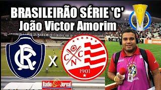 Remo 1 x 1 Náutico (Gols narrados por João Victor Amorim - Rádio Jornal do Commercio) #SerieC2018