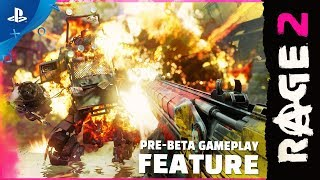 Rage 2 - 9 minutes of New Pre-Beta Gameplay   PS4