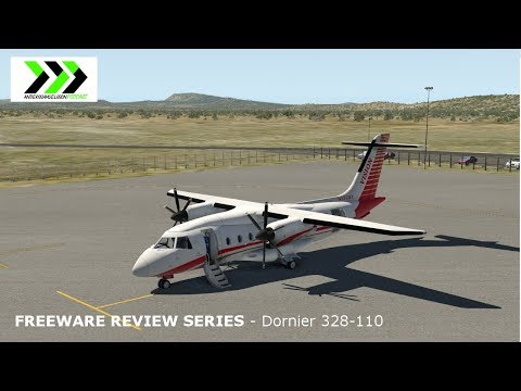 Freeware Review Series for X-plane 11 - Dornier 328-110 1.1