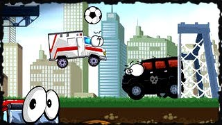Vehicles 3 Car Toons Full Game Walkthrough All Levels