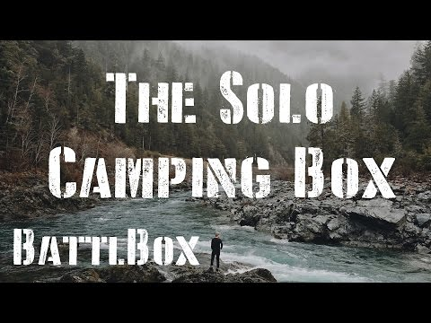Solo Camping Box: BattlBox Mission 13
